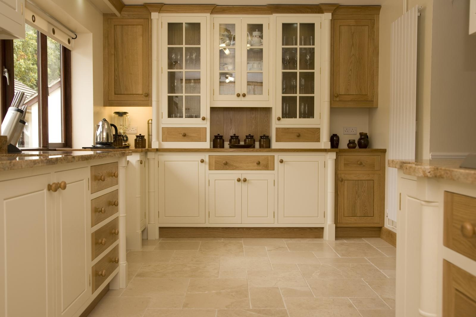 Painted Oak Kitchen Llanrhystud