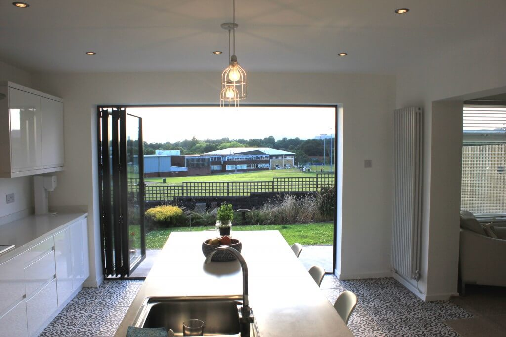 Aluminium Bi Folding Doors  Cardiff  BiFolds  Welsh