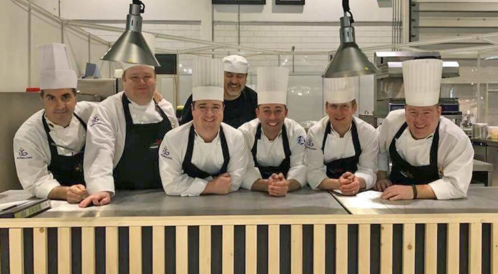 170f3c9d7e1022 The International Salon Culinaire was an important warm up event for  national culinary teams from Wales and England before for the Culinary  World Cup in ...