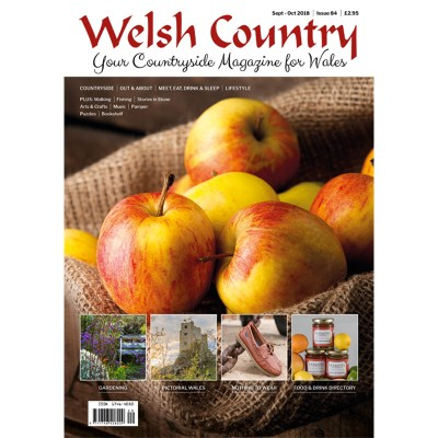 Welsh Country Magazine Front Cover Sept Oct 2018