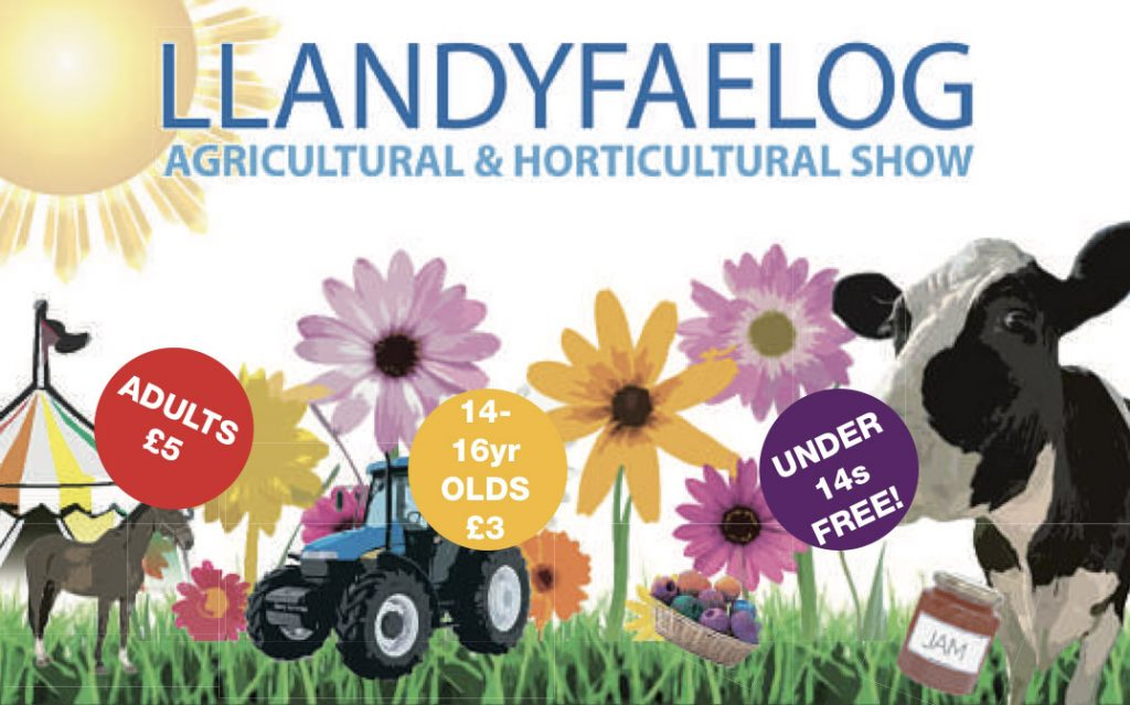 Agriculture Shows, County Shows & Events - llandyfaelog-show