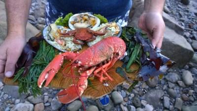 Blas Restaurant foraging with craig evans