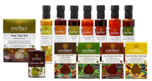 Coconut Kitchen sauces and pastes