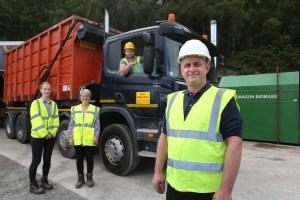Lelo Skip Hire shortlisted for Apprenticeship Awards Cymru