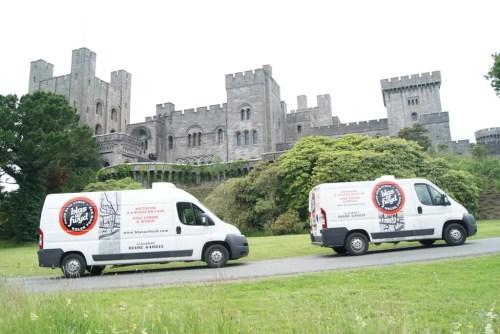Blas ar Fwyd refrigerated vans