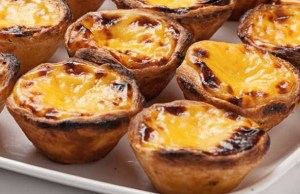 goats cheese followed by Portugese Tarts cowbridge farmers market 1