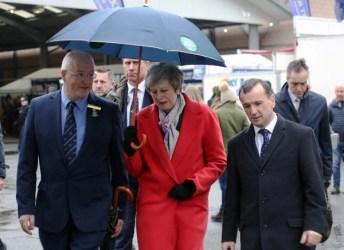 thereasa may at the royal welsh winter fair