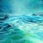 Flood the senses - Oil on canvas - 60 x 60cm - #BalanceforBetter