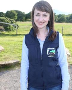 Pembrokeshire's emily davies rwas lady ambassador
