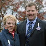 seimon thomas and wife eleanor prersident of Royal Welsh Agricultural Society