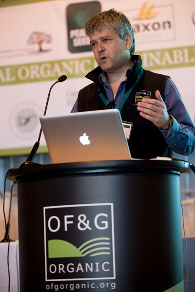OF&G Chief Executive Roger Kerr - Organic Producers