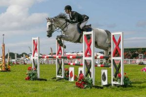 showjumping at anglesey show