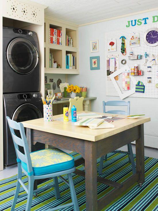 workroom laundry room