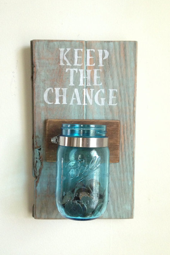keep the change laundry decor