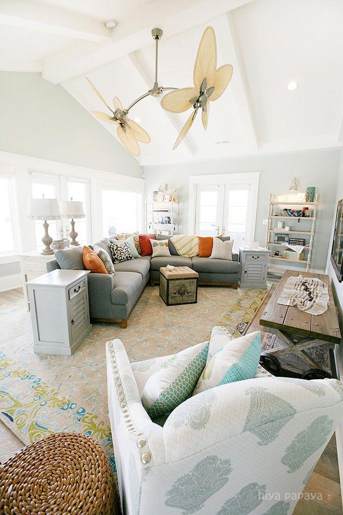family room, lindy allen, Hiya Papaya