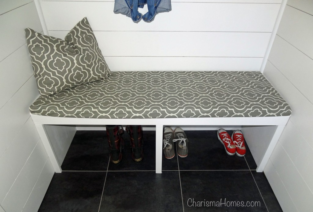 mudroom bench cushion cover
