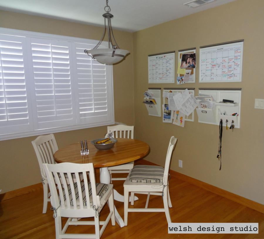 Painted Family Kitchen With Dining Nook: New Paint For The Breakfast Nook