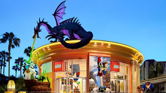 lego store disneyland tips and tricks