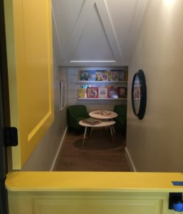 closet reading nook for kids
