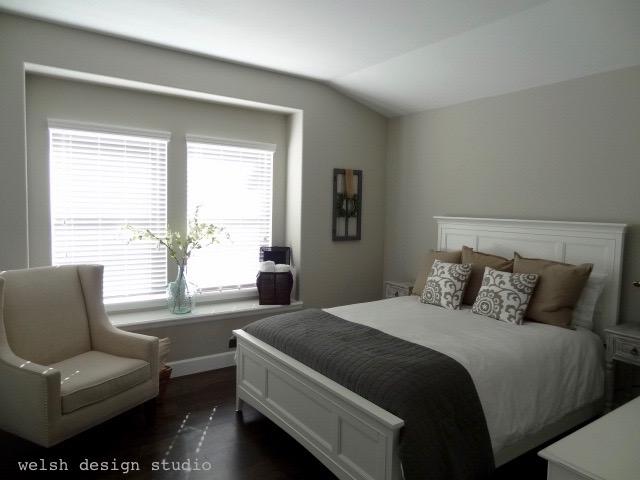 fixer upper style guest bedroom