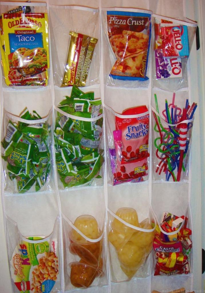 over door snack organizer