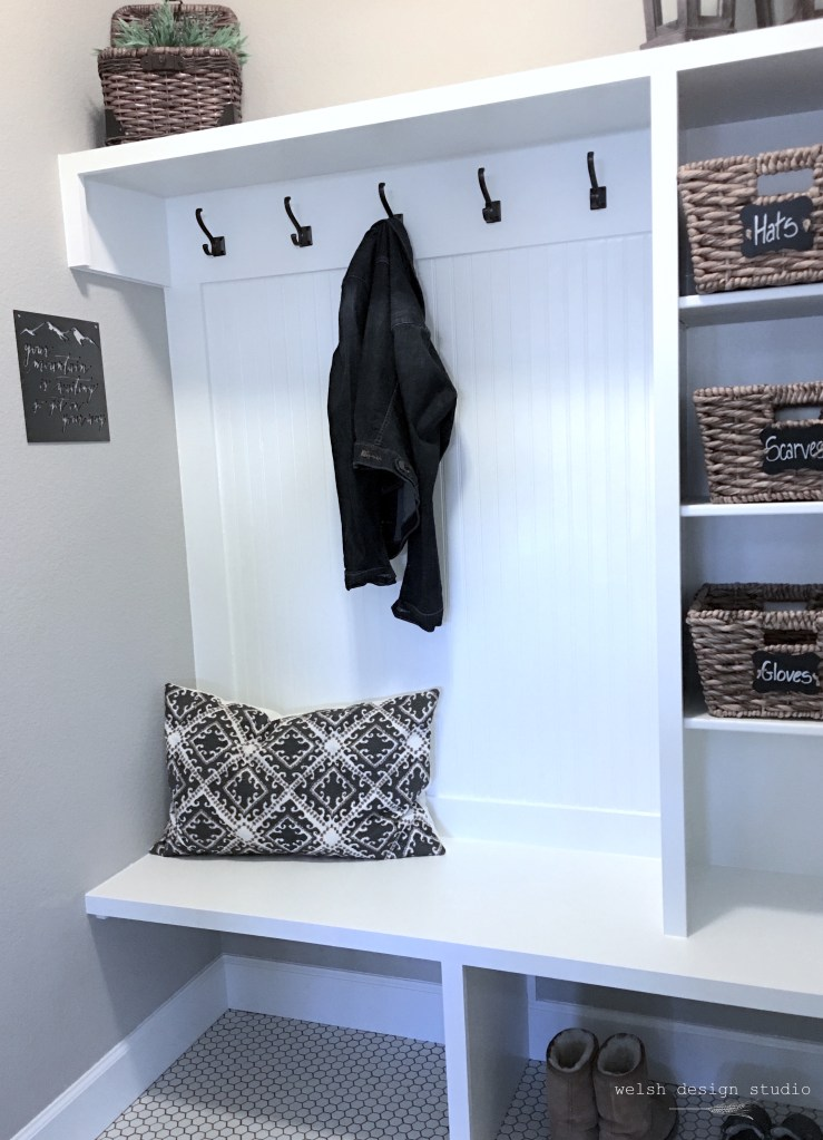 mudroom makeover design