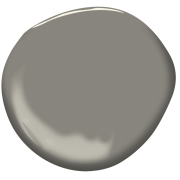 pairing gray paint with beige