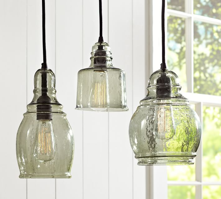 Pendant Lights For An Industrial Farmhouse Kitchen Welsh Design Studio - Kitchen pendant lighting pottery barn
