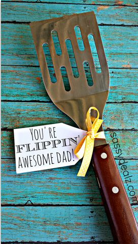 father's day spatula gift