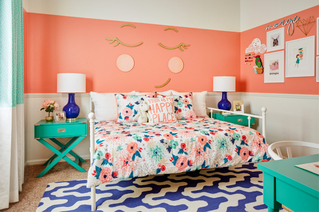My Three Favorite Color Schemes For A Girl S Bedroom Welsh Design Studio