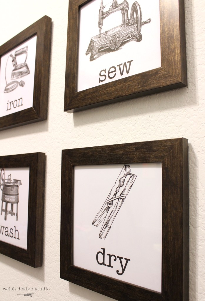 free laundry room artwork printables