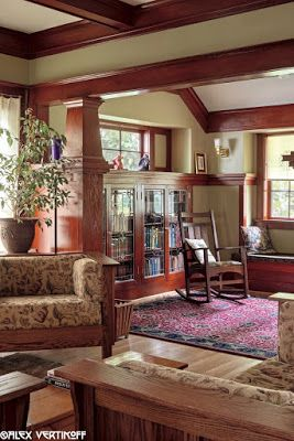 craftsman ceiling details