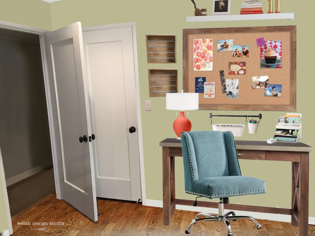 Virtual room design girl 39 s room makeover welsh design - Virtual kitchen makeover upload photo ...