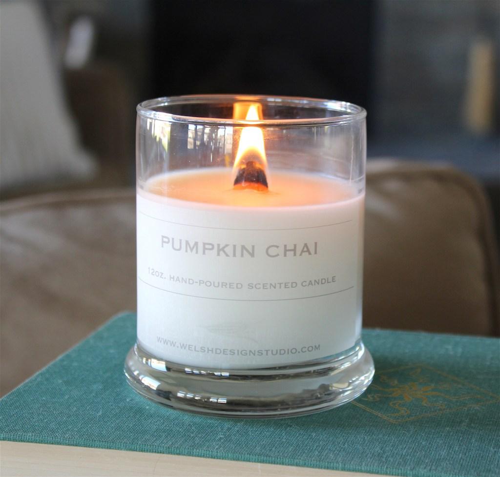 pumpkin chai candle
