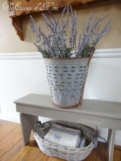 olive bucket planter