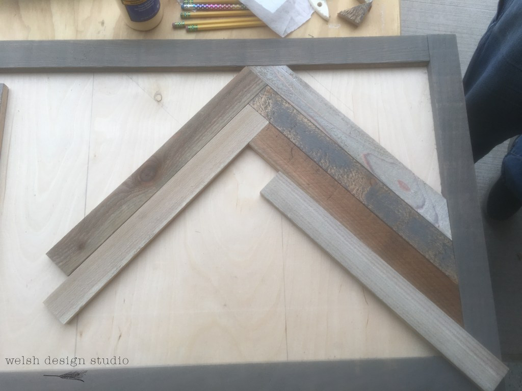 How To Make A Wood Herringbone Pattern Welsh Design Studio