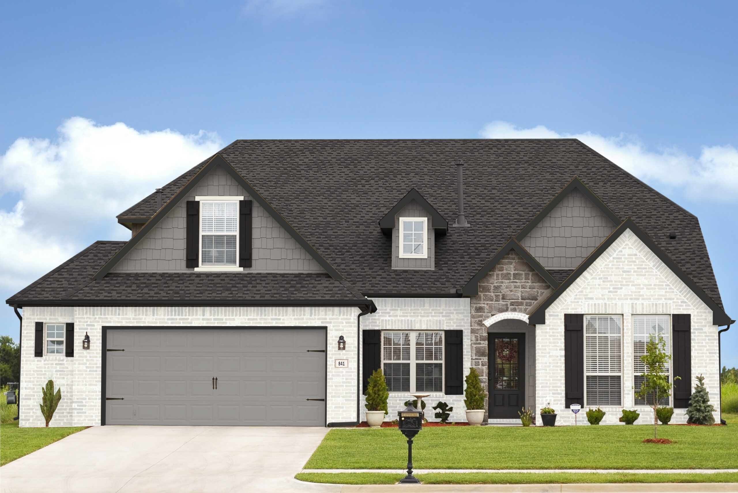Recruitment House View 42 Exterior Paint Colors That Go With Brick