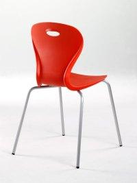 Lotus chair 4 leg chair - Chrome - Welsh Educational Supplies