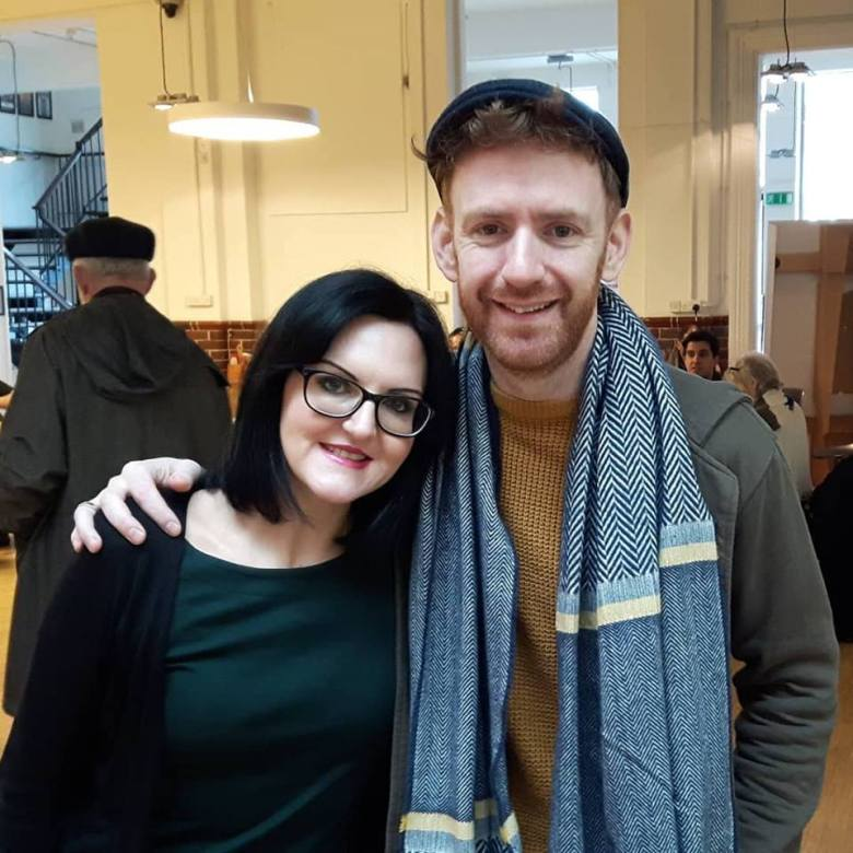 Me and Chris Rankin