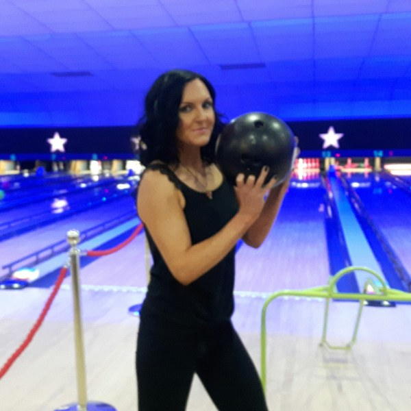 Sjogrens Syndrome - Mum with bowling ball