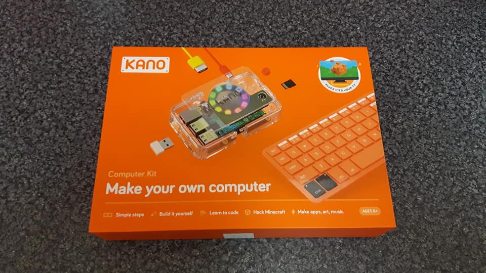 KANO build your own computer kit.