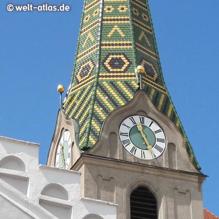 Foto Kirchturmuhr in Beilngries  WeltAtlasde