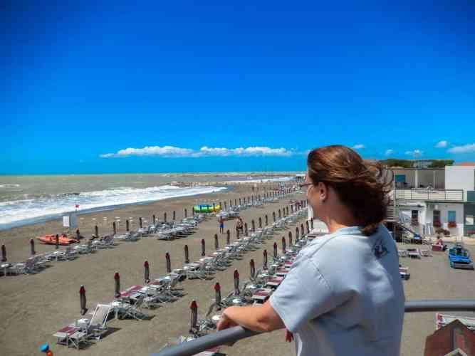 Der Strand von Cecina