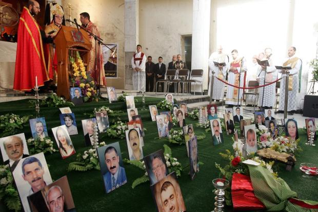 <br /> Weihnachtsgottesdienst in der Kathedrale in Bagdad<br />