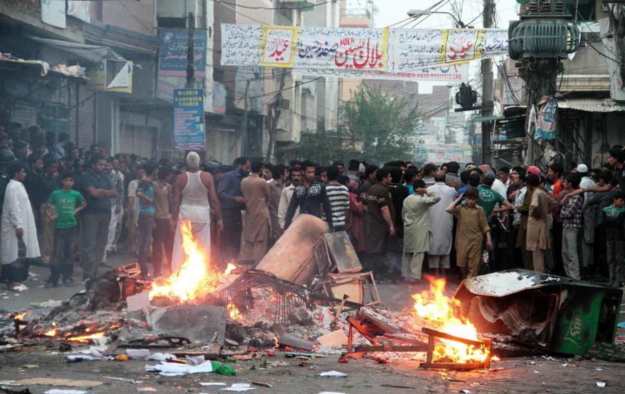 Pakistani school owner, teacher booked for blasphemy