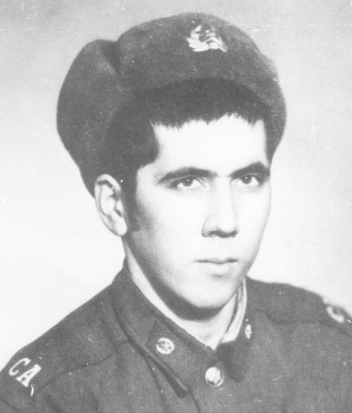 Chakimow als junger Soldat