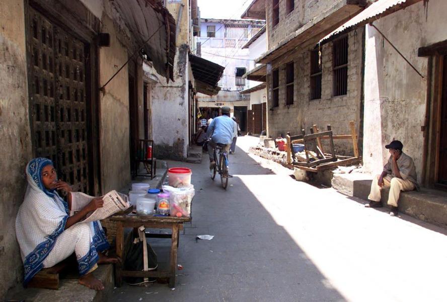 Die Altstadt von Stone Town auf Sansibar. Hier wurden die beiden jungen Britinnen angegriffen