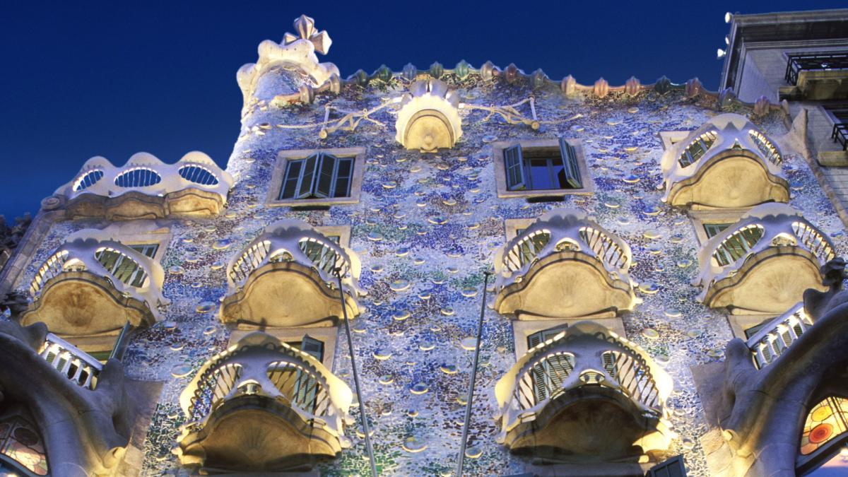 Barcelona Verspottet und verehrt  auf den Spuren von