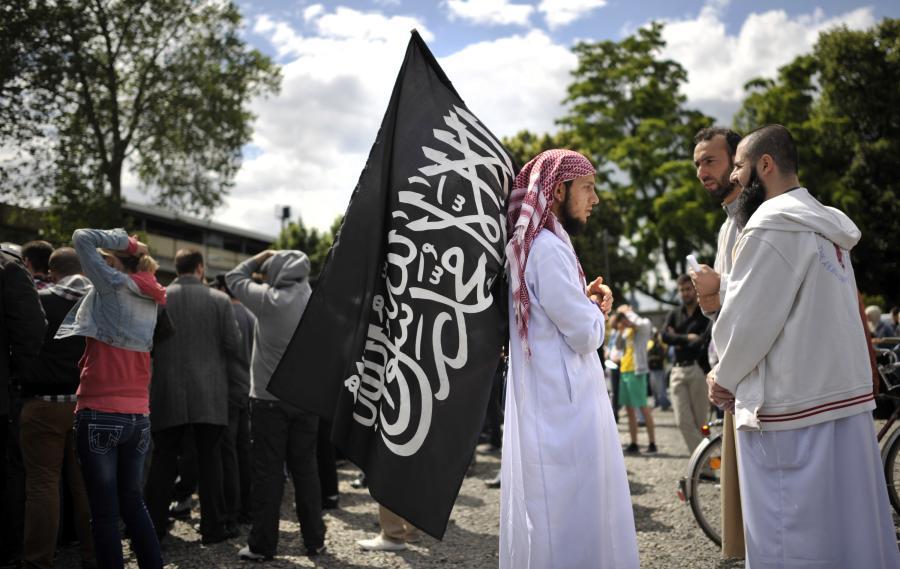 Salafisten Kundgebung