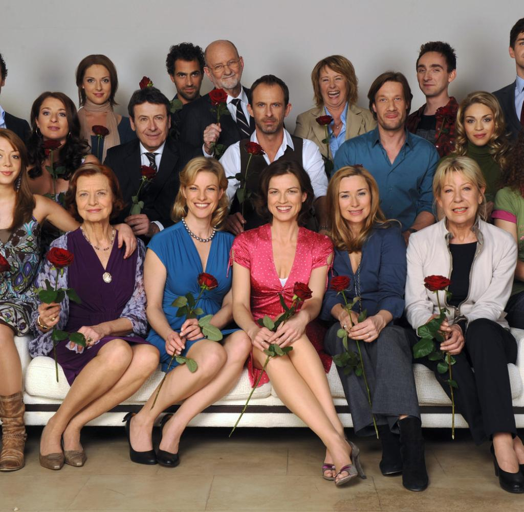 ARD Das 40plusGeheimnis der Telenovela Rote Rosen  WELT